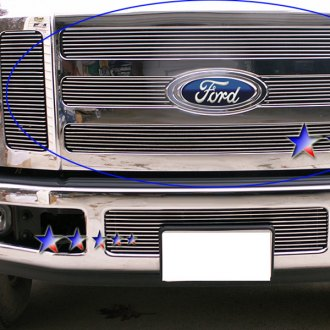APG® - 6-Pc Polished Horizontal Billet Grille
