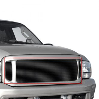 APG® - 6-Pc Black Horizontal Billet Grille