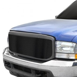 APG® - 1-Pc Full Opening Style Black Horizontal Billet Grille