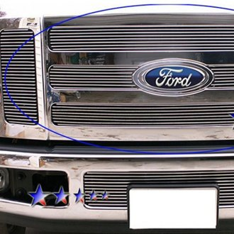 APG® - 3-Pc Black Horizontal Billet Grille