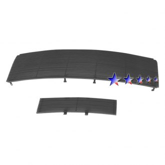APG® - 2-Pc Black Horizontal Billet Grille
