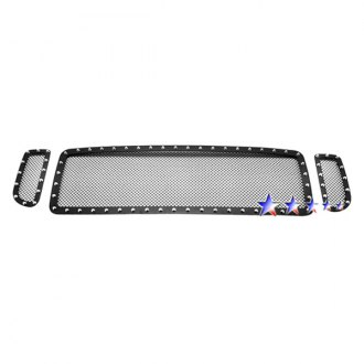 APG® - 3-Pc Rivet Style Black 1.8mm Wire Mesh Main Grille
