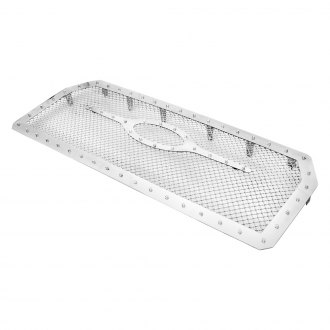 APG® - 1-Pc Rivet Style Chrome 2.5mm Wire Mesh Grille
