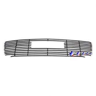 APG® - 1-Pc Black Horizontal Tubular Main Grille