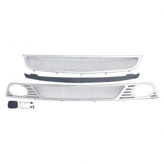 APG® - 2-Pc Chrome 1.8mm Wire Mesh Main and Bumper Grille Kit