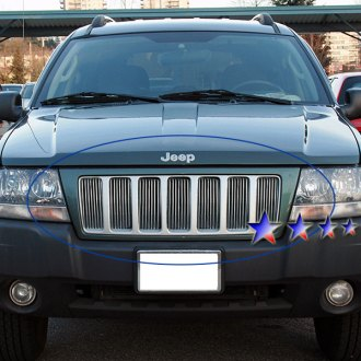 Jeep grand cherokee custom grills