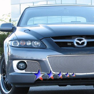 APG® - 3-Pc Chrome 1.8mm Wire Mesh Bumper Grille