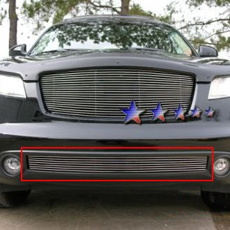 APG® - 1-Pc Polished Horizontal Billet Bumper Grille