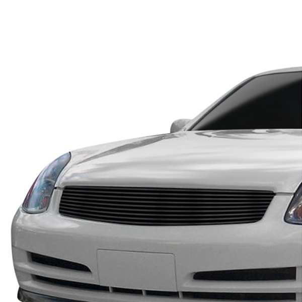 Fits 2003-2004 Infiniti G35 Stainless Steel Main Upper Billet Grille