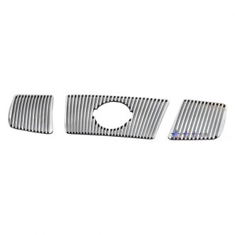 APG® - 3-Pc Perimeter Polished Vertical CNC Machined Grille