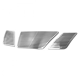 APG® - 3-Pc Perimeter Polished Horizontal CNC Machined Main Grille