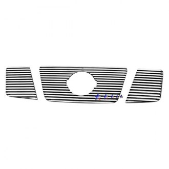 APG® - 3-Pc Perimeter Polished Horizontal CNC Machined Grille