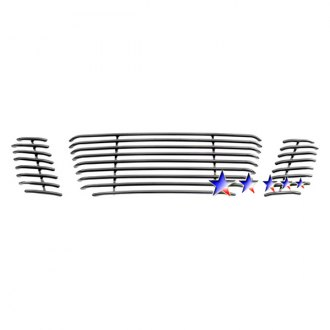 APG® - 3-Pc Black Horizontal Tubular Main Grille