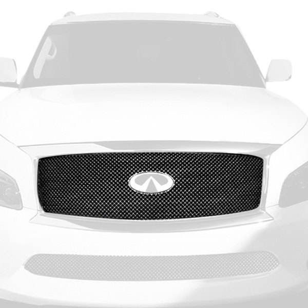 APG® - 1-Pc Chrome 2.5mm Wire X Mesh Main Grille