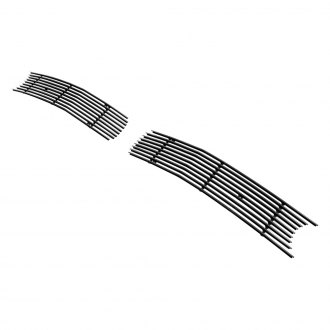 APG® - 2-Pc Black Horizontal Billet Bumper Grille