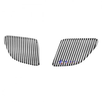 APG® - 2-Pc Perimeter Polished Vertical CNC Machined Main Grille