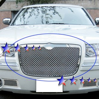 APG® - 1-Pc Chrome 2.5mm Wire Mesh Grille