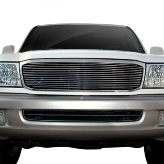 2000 toyota land cruiser custom grilles billet mesh led chrome black 2000 toyota land cruiser custom grilles