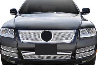 APG® - 2-Pc Chrome 1 8mm Wire Mesh Main Grille