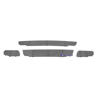 APG® - 4-Pc Polished Horizontal Billet Main and Bumper Grille Kit