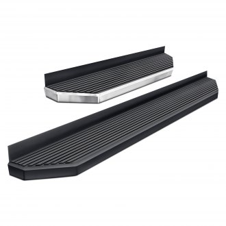 """For Ford Transit 15-19 Owens 6/"""" TranSender Factory Style Black Running Boards"""