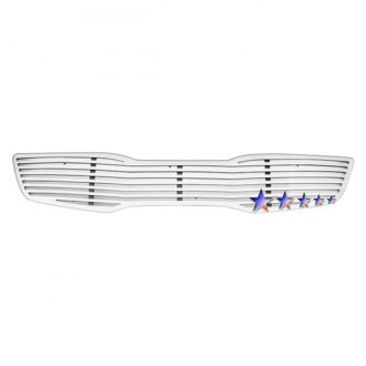 APG® - 1-Pc Perimeter Polished Horizontal CNC Machined Grille