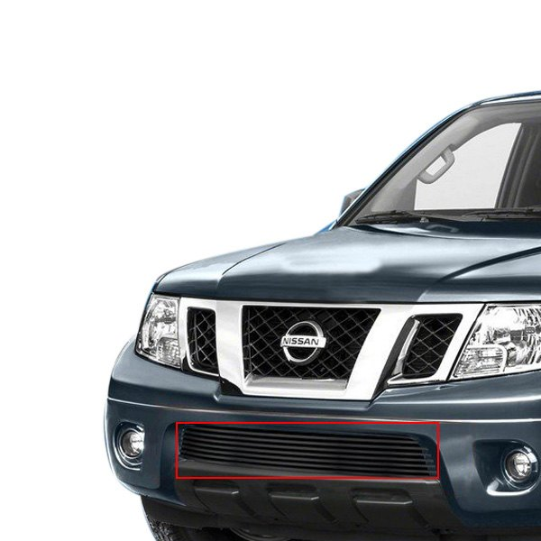 Apg 174 Nissan Frontier With Chrome Bumper 2013 2015 1 Pc