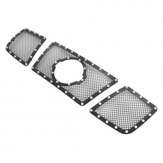 APG® - Rivet Style Black Powder Coated 1.8mm Wire Mesh Grille