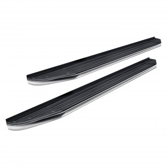 "APG® - 5.75"" Black with Chrome Trim Running Boards"