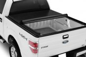 APG® - Roll-Up Tonneau Cover, Mid Opened