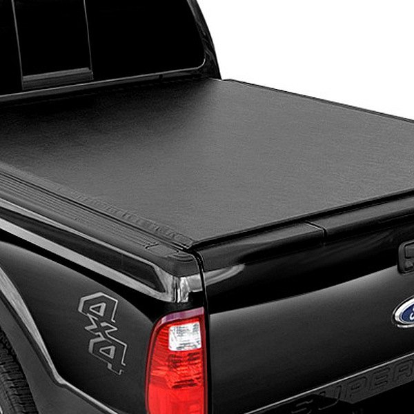 Image may not reflect your exact vehicle! APG® - Tri-Fold Tonneau Cover, Closed