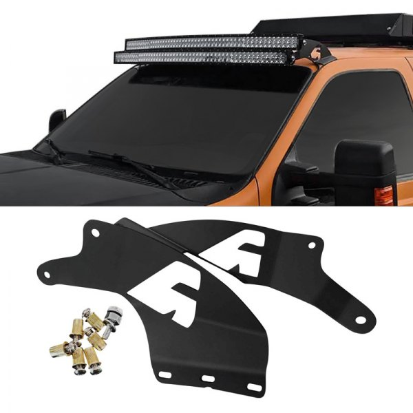 Apoc Ap 5000 Ds Fsd Double Stack Roof Mounts For Two 54 Curved Led Light Bars