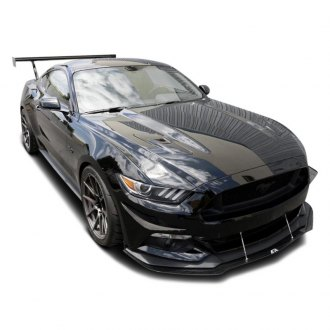 Ford Mustang Bumper Canards Carbon Fiber Urethane Carid Com