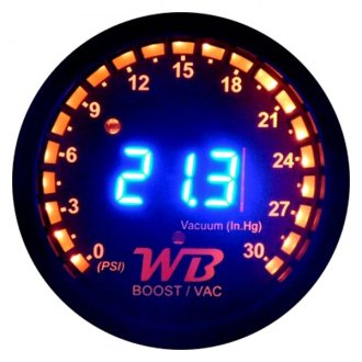 APSX WideBand® - B2 Digital Vacuum/Boost Display Gauge