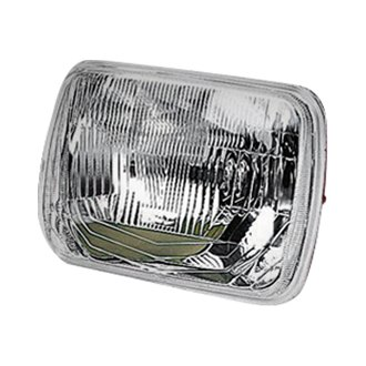 "ARB® - IPF 7x6"" Rectangular Chrome Euro Headlight"