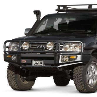 ARB®   Deluxe Full Width Black Front Winch HD Bumper With Grille Guard