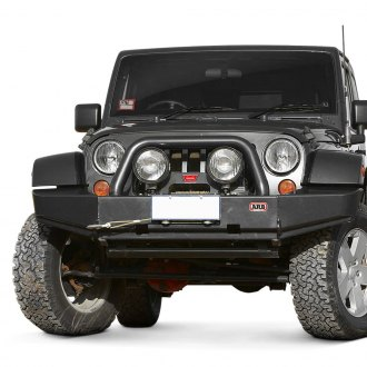 ARB® - Sahara Full Width Front Winch HD Bumper with Hoop