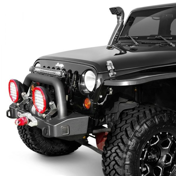 Jeep Wrangler 2014 Stubby Black Front Winch HD
