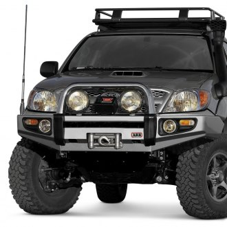 ARB® - Full Width Black Front Winch HD Bumper with Hoop