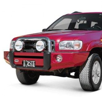 2002 nissan pathfinder custom. ARB® - Sahara Full Width Black Front Winch HD Bumper 2002 Nissan Pathfinder Custom
