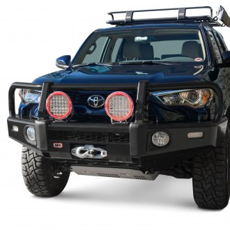 ARB® - Summit Full Width Black Front Winch HD Bumper Kit with Grille Guard