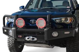 ARB® - Summit Full Width Textured Black Front Winch HD Bumper Kit with  Grille Guard