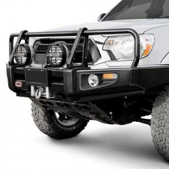 ARB® - Deluxe Full Width Raw Front Winch HD Bumper with Grille Guard