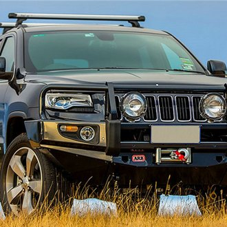 ARB® - Deluxe Full Width Front HD Winch Bumper with Grille Guard