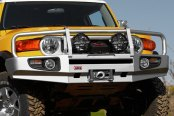 Image may not reflect your exact vehicle! ARB® - Deluxe Bar Front Bumper