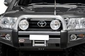 ARB® - Sahara Full Width Front HD Winch Bumper with Hoop