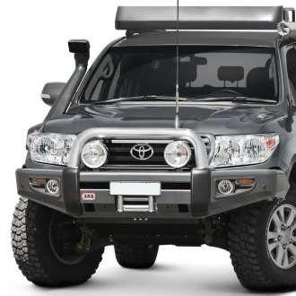 ARB® - Sahara Full Width Black Front Winch HD Bumper with Hoop