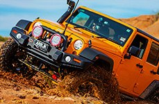 ARB® - Sahara Bar Front Bumper on Jeep Wrangler