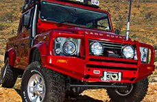 ARB® - Deluxe Front Bumper on Land Rover