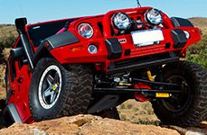 ARB® - Deluxe Front Bumper and Snorkel on Jeep Wrangler